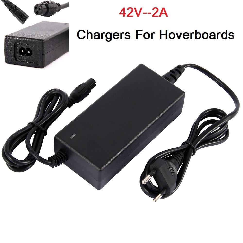 Зарядные устройства для гироскутеров с Европейской/американской вилкой 42 в 2