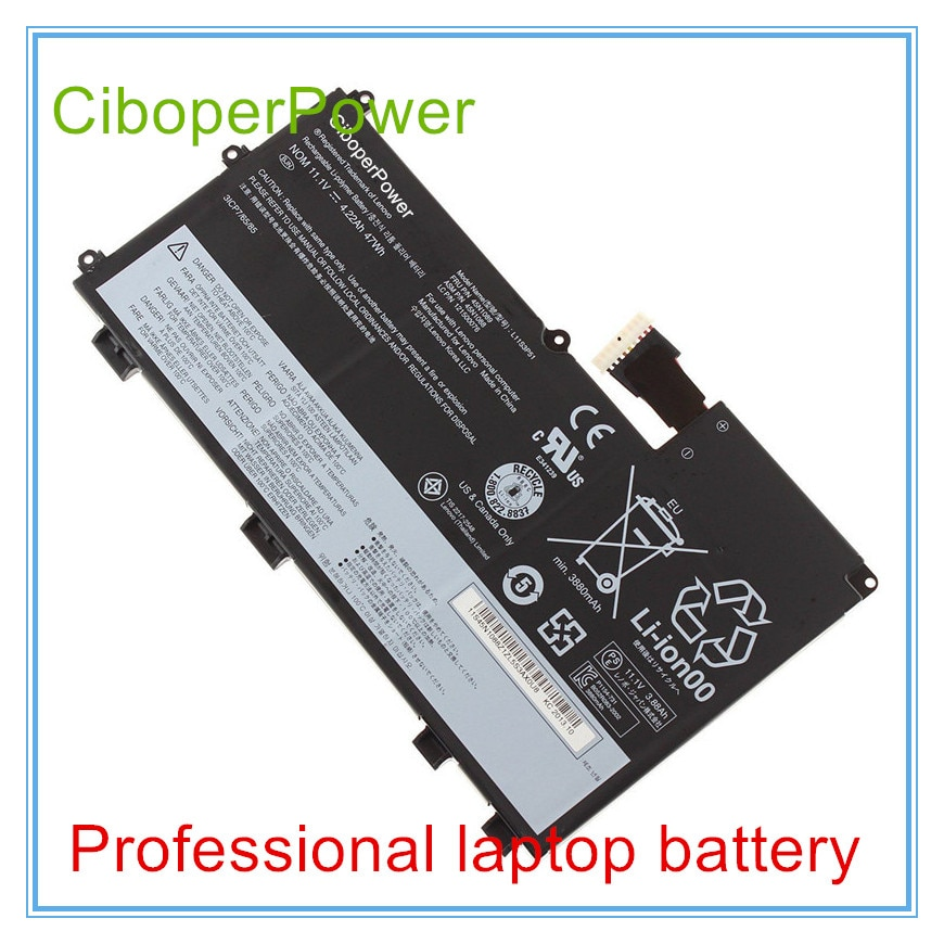 Аккумуляторы для ноутбука V490U V590U T430U L11N3P51 ASM 45N1090 FRU 45N1091|battery notebook|notebook batterybattery for