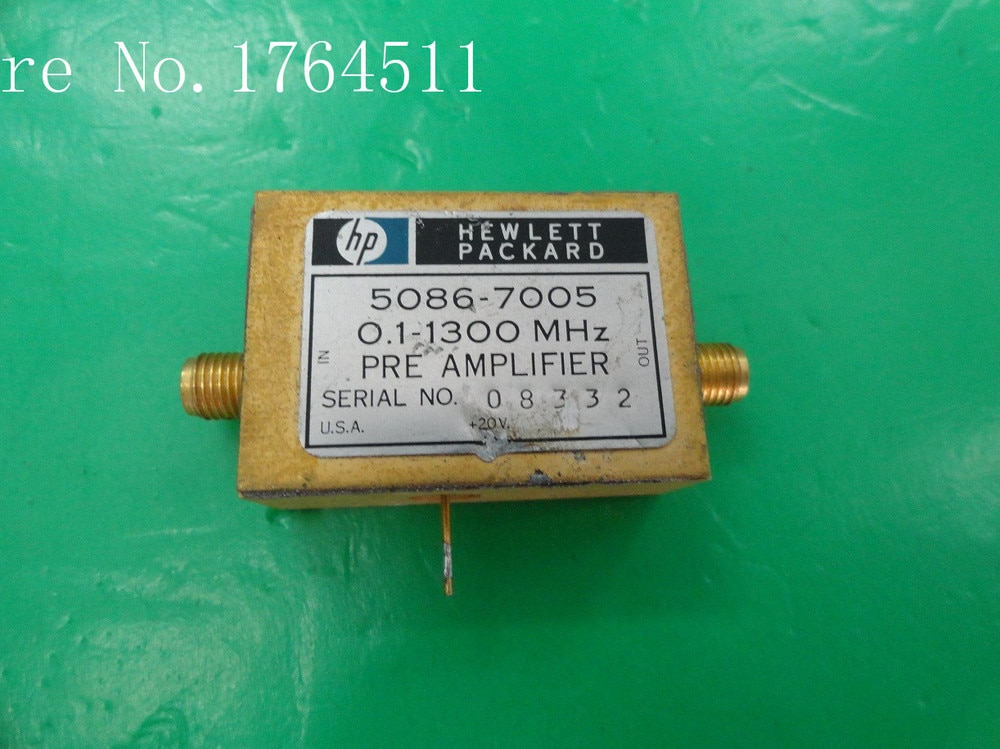 [BELLA] Оригинальный 5086 7005 0 1 3 GHz 20V SMA усилитель|sma booster|amplifier controlamplifier box |