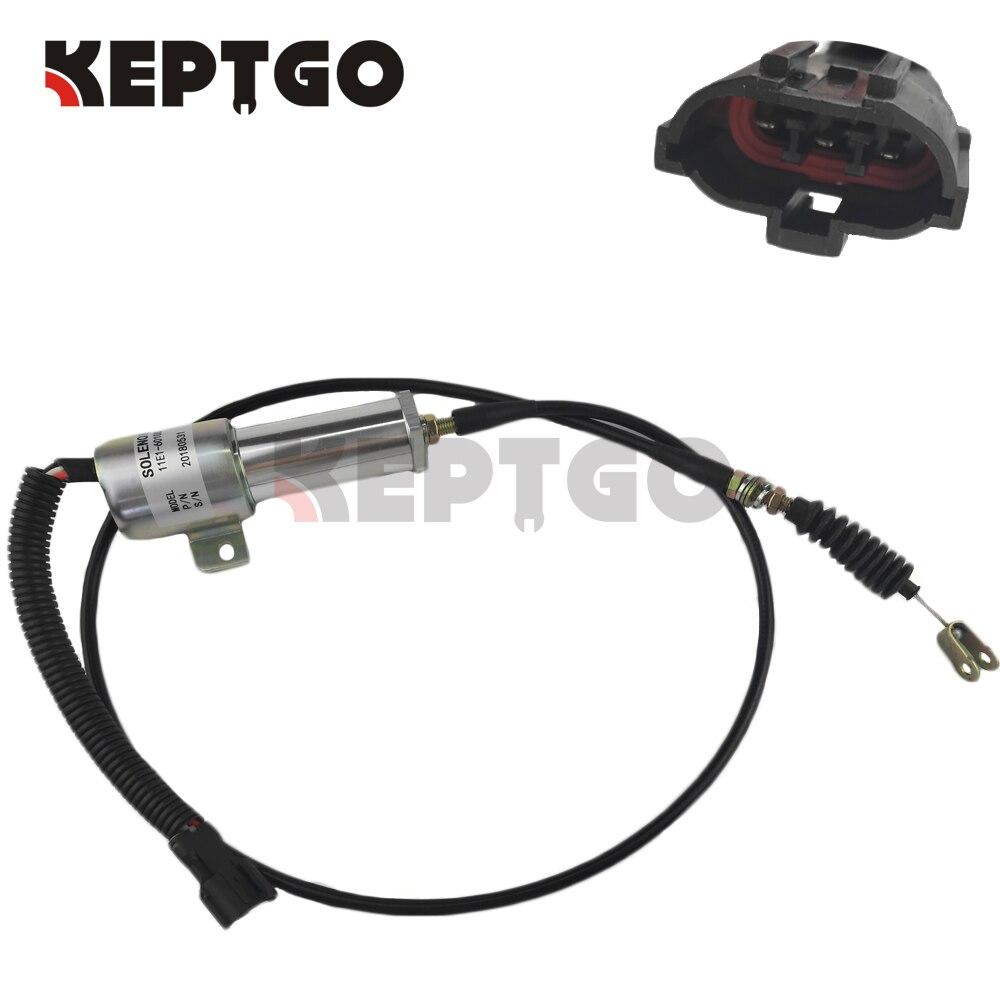 Электромагнитный стоп сигнал 24 В для Hyundai R210 11E1 60100 24 Детали генератора и