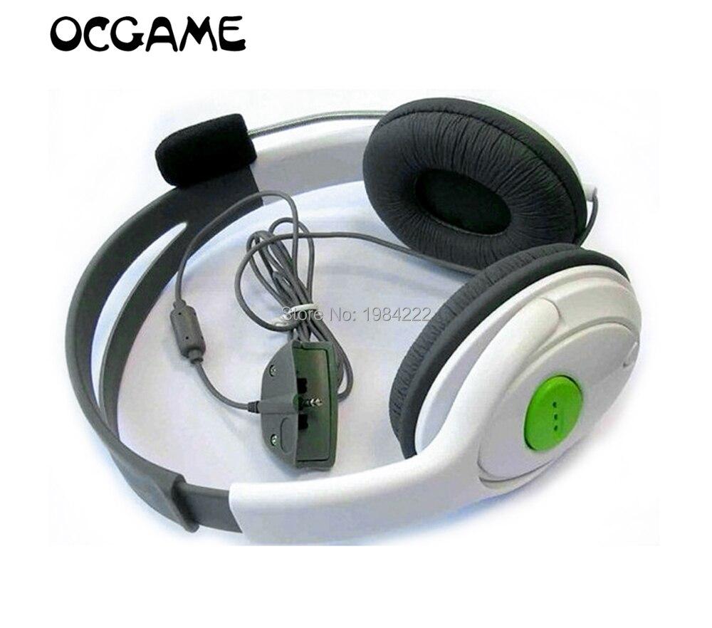 Фото Высококачественные Игровые наушники OCGAME для Xbox360 игровая гарнитура проводные с