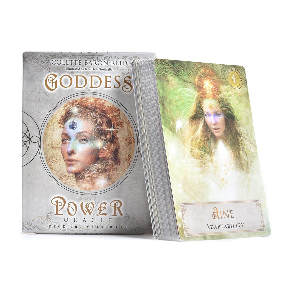 52 шт. Lakens Tarot Kaarten Godin Power Dek Games Guidebook Tafel настольная игра Speelkaart Voor Familie вечерние