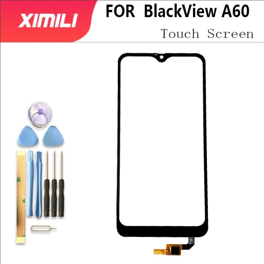 "Vidrio exterior de 6,1 ""para Panel de pantalla táctil BlackView A60, 100% Sensor digitalizador Original probado, reemplazo del Panel de vidrio + herramientas 3M"