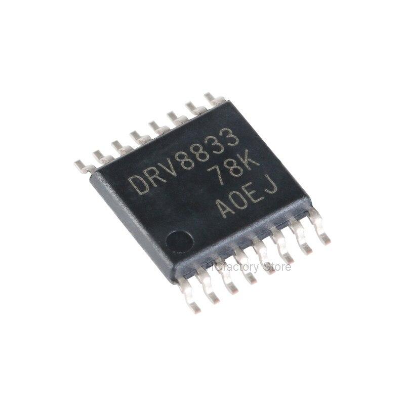 Новый оригинальный 10 шт./партия DRV8833PWPR DRV8833PWP DRV8833 TSSOP16 в наличии оптом, единый дистрибьютор