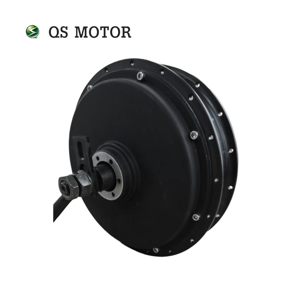 QS Motor 3000W V3 72V 60kph Spoke Hub Motor for Electric Bicycle