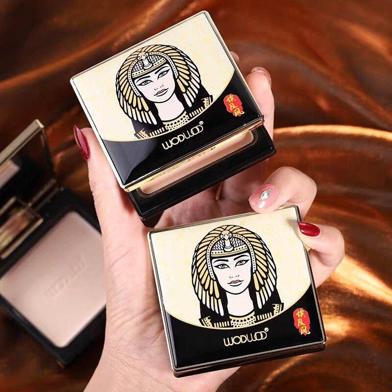 Base de mitología egipcia antigua polvo duradero control de aceite impermeable ligero maquillaje Natural ilumina la piel cobertura completa