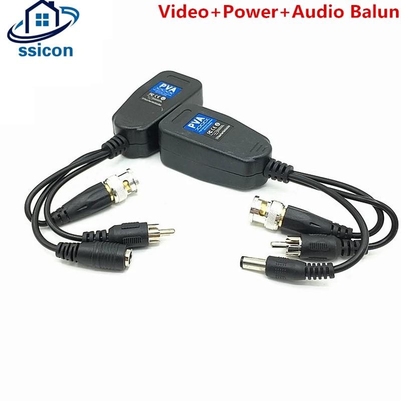 8 Мп HD видео балун пассивное Питание Видео Аудио 3 в 1 4K витая пара BNC передатчик для AHD CVI TVI камеры безопасности