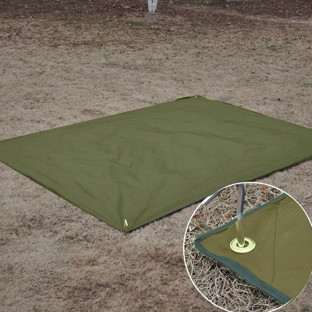 4-6 People Outdoor Camping Waterproof Oxford Mat Wear-resistant Tent Pad Moisture-proof Camping Tarp Ground Sheet Picnic Mat vilead 4 sizes camping mat outdoor camping tent waterproof oxford cloth moisture pad thick beach mat picnic camping hiking