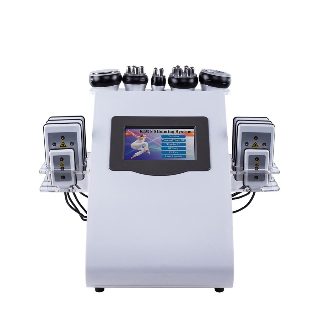2021 رائجة البيع 80k بالموجات فوق الصوتية التجويف فقدان الوزن راديو ترددات السيلوليت إزالة 40k فراغ التجويف آلة تخسيس الجسم
