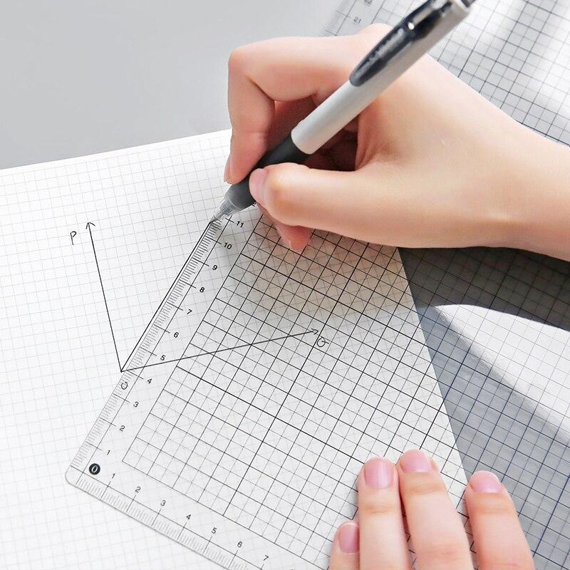 Прозрачная линейка, доска A4 B5, для студентов, для письменного стола, планшетов для шитья, для рисования, планшетов для рисования