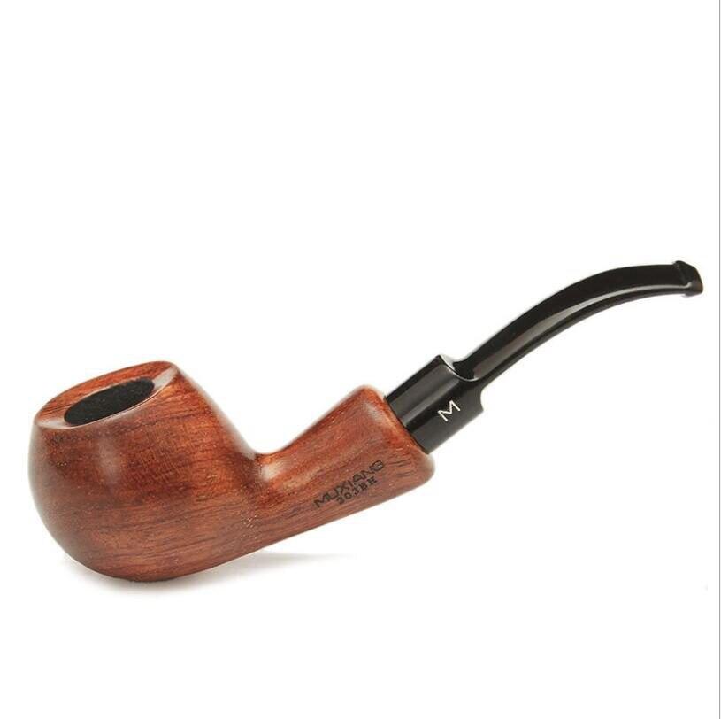 Criativo haste curta curvado jacarandá tabaco conjunto tabacco moedor de fumaça erva daninha amigo tigela para o presente