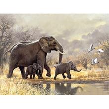 5D DIY 다이아몬드 페인팅 olifant 풀 스퀘어/라운드 다이아몬드 자수 키트 동물 코끼리 장식 홈