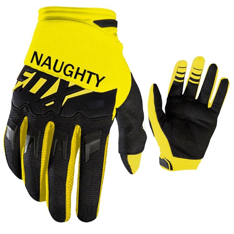 Naughty Fox MX Gloves Motorbike Riding Mountain Bike Cycling Motorcycle Racing DIRTPAW Race Gloves