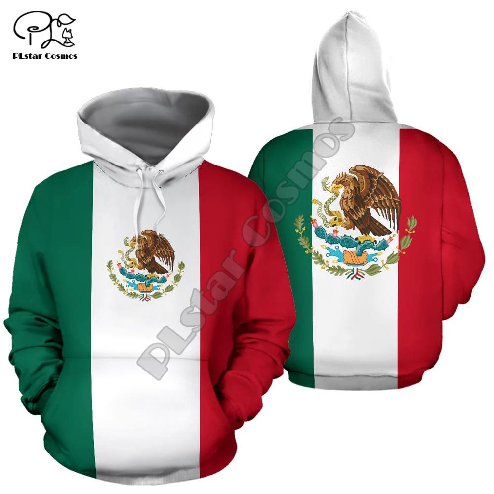 Men mexican flag badge 3d print hoodie long sleeve Sweatshirts jacket pullover tracksuit with hood hoody autumn outwear men unisex pitbull limited edition 3d dog print zipper hoodie long sleeve sweatshirts jacket pullover tracksuit