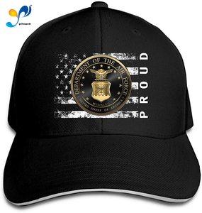 U S Air Force U S A F Emblem Proud American Men Classic Outdoor Casquette Peak Cap