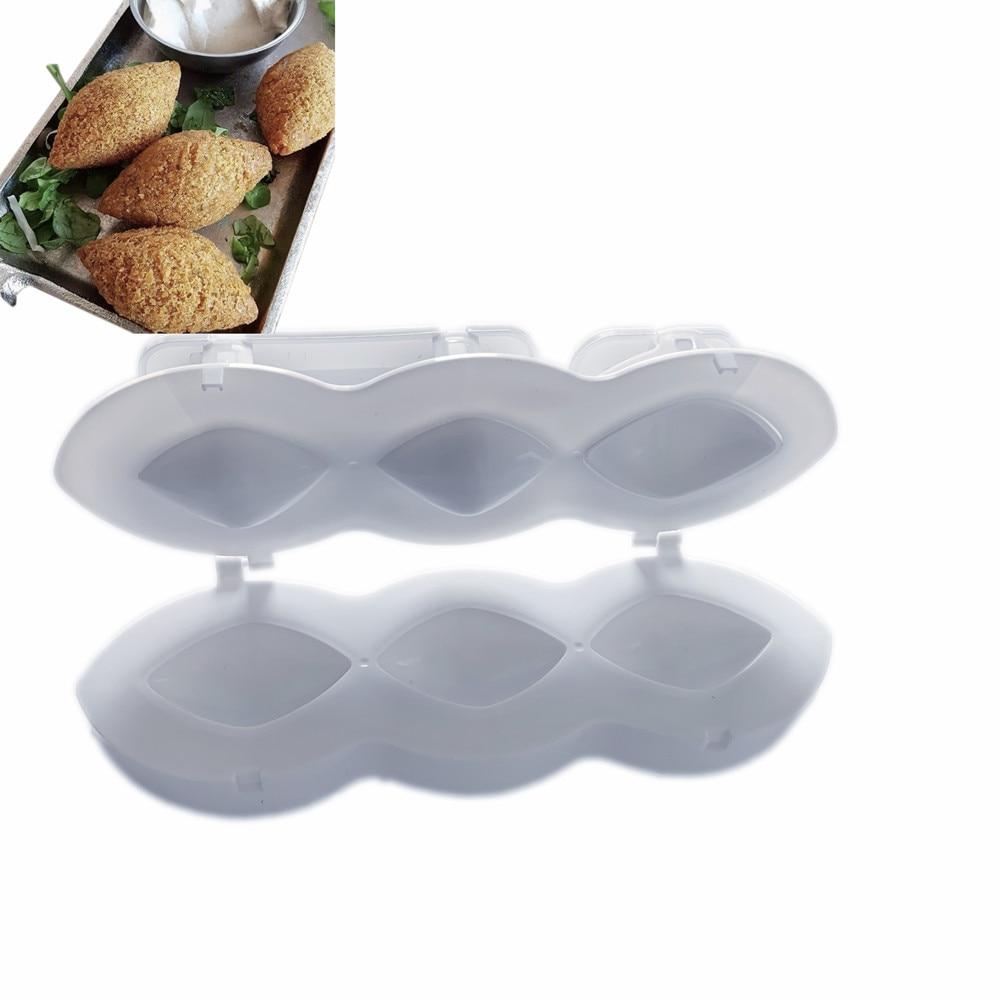 2021 NEW Meatball Maker Manual Meatloaf Mold Kibbeh Maker Press Minced Meat Processor Cake Desserts Kitchen Tools Home Meat Pie