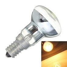 Żarówka edisona 30W E14 świecznik R39 reflektor reflektor żarówka lampa Lava żarówki żarnika stara lampa artykuły domowe nowy