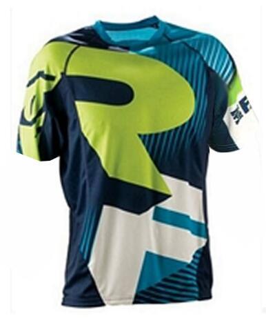 2020 camiseta de Ciclismo de montaña de manga larga DH MX RBX...
