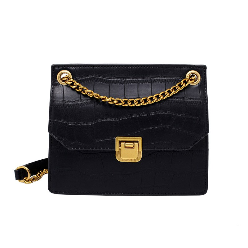 2021 New Fashion Chain Small Square Bag Wild Net Red Female Bag Messenger Bag Retro Shoulder Bag