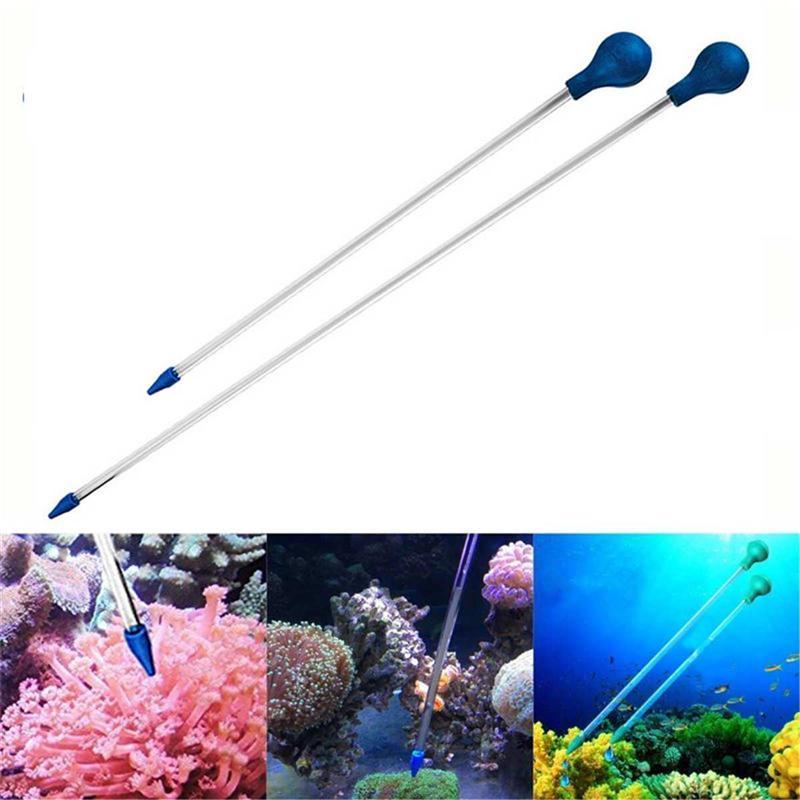 Coral Feeder SPS HPS Tube Liquid Fertilizer Add Reef Tank Fresh Water Aquarium Upgrade Ultra Powerful Coral Feeding Tube 40CM