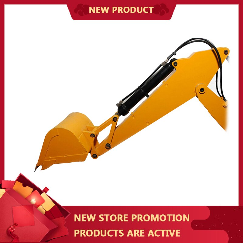 1:14 Mud Head Cylinder 16MM Inner Diameter Double Acting Micro Cylinder Hydraulic Cylinder