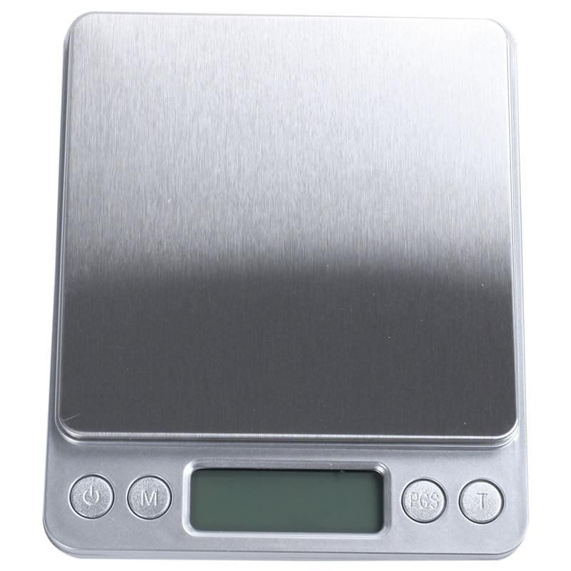 SHGO HOT-Precision 3000g x 0.1g Digital Scale Balances Weight Jewelry Food Diet Postal ounce
