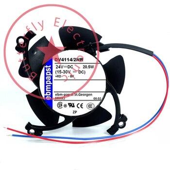 BRAND NEW DV4114/2NR 24V 850MA 20.5W ORIGINAL GERMANY DEDICATED 12038 12CM COOLING FAN COOLER 120*120*38MM
