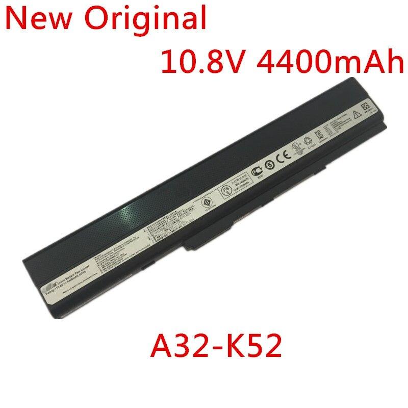 Nuevo Original ordenador portátil reemplazo de la batería de iones de litio para Asus A31-K52 A32-K52 A41-K52 A42-K52 A32 K42 A41 A52J VD F 10,8 v 4400mAh