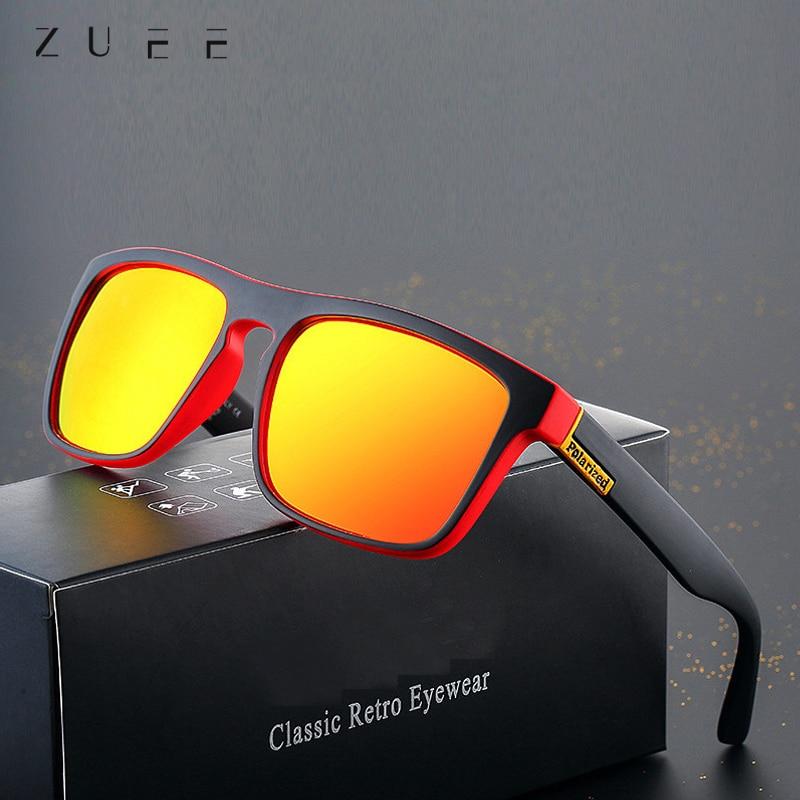 Unisex 100% UV400 Polarised Driving Sun Glasses For Men Polarized Stylish Sunglasses Male Goggle Eye