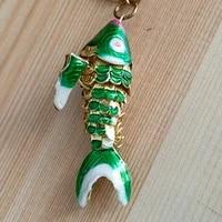 5pcs big 2 size cute enamel koi fish charms for jewelry making pendants vivid swing carp diy necklace bracelet earrings findings