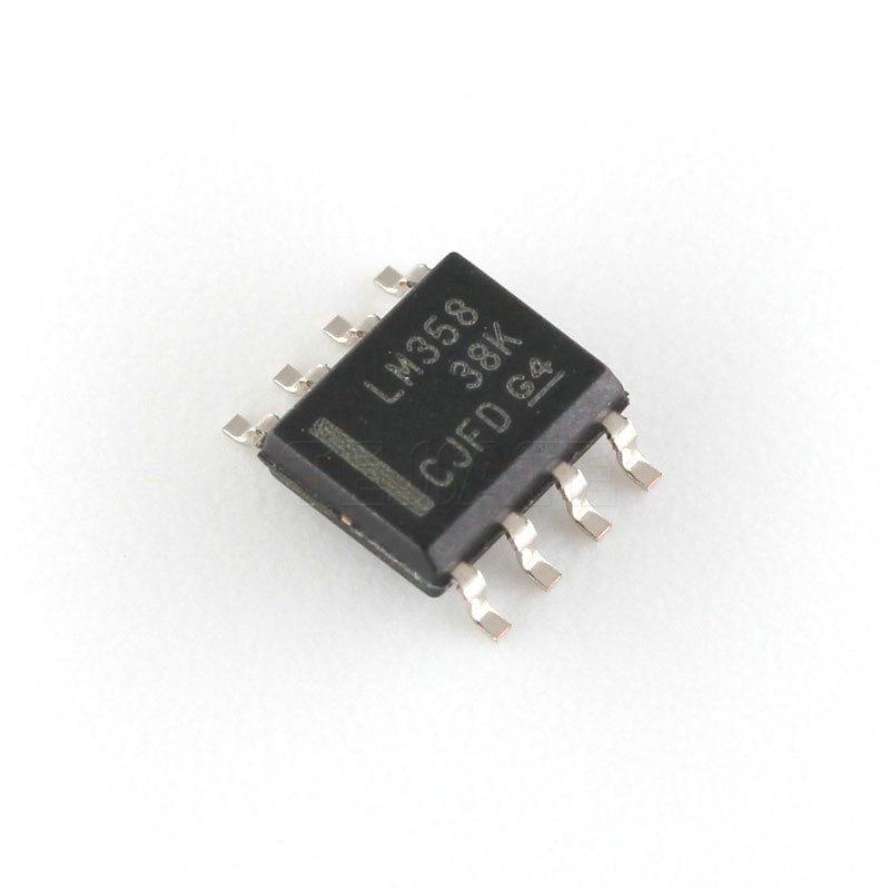 20 pces lm358 lm358dr sop8 amplificadores operacionais-op ampères duplo baixo original novo