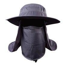 Pêche soleils anti-uv Daiva Protection visage cou rabat chapeau de soleil bandeau soleil pluie chapeau casquette pêche randonnée 456