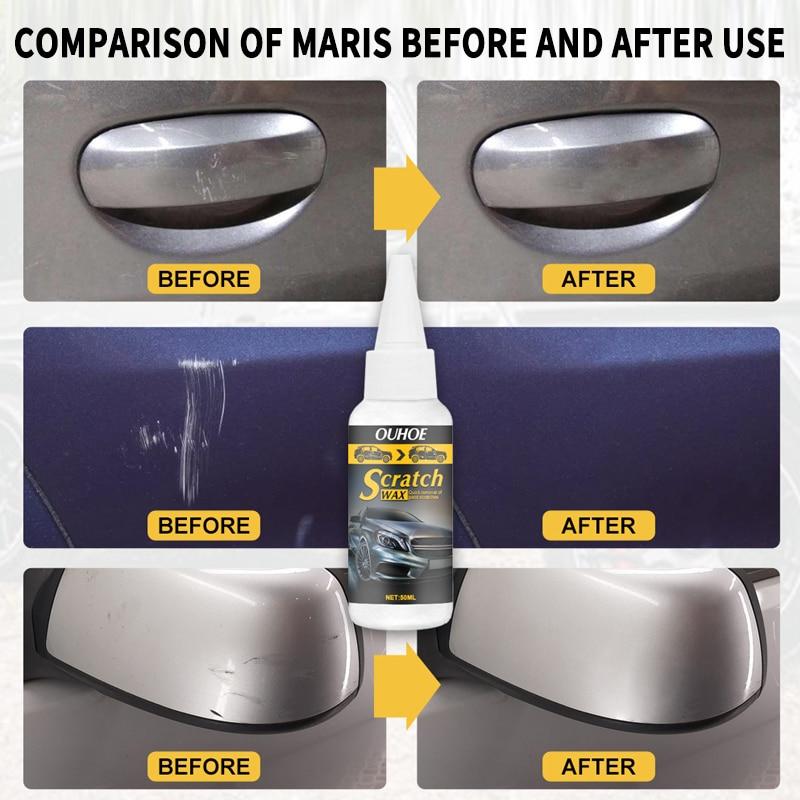 Car Accessorie 1Pcs 30/50ml Car Scratch Repair Paint Car Scratch Remover Scratch Repair Fluid Car Wash Car Cleaning Tool TSLM1