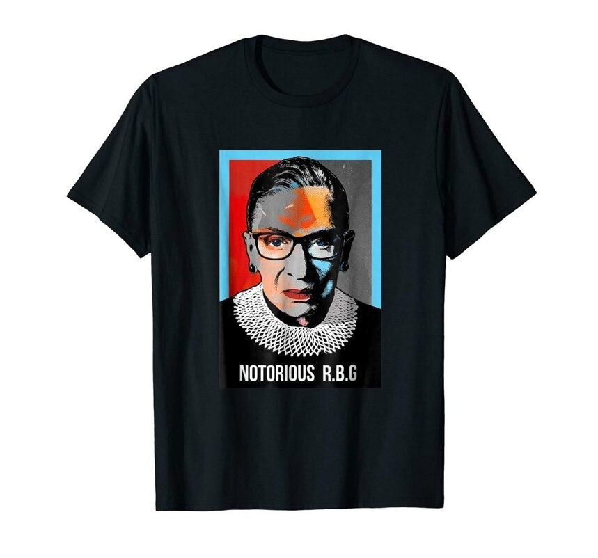 Notorious Rbg Ruth Bader Ginsburg Feminist Black T-Shirt S-3Xl Gym Tee Shirt
