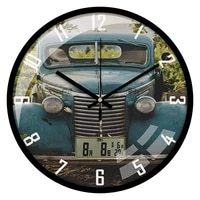 nordic large 3d wall clock metal clocks with lcd calendar silent wall watches home living room decoration modern zegary gift