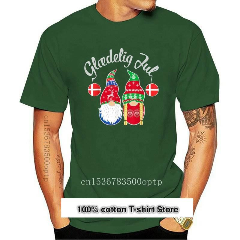 Glamedelig Jul-Camiseta de Feliz Navidad para hombres camisa Vintage de Dinamarca... Nissan...