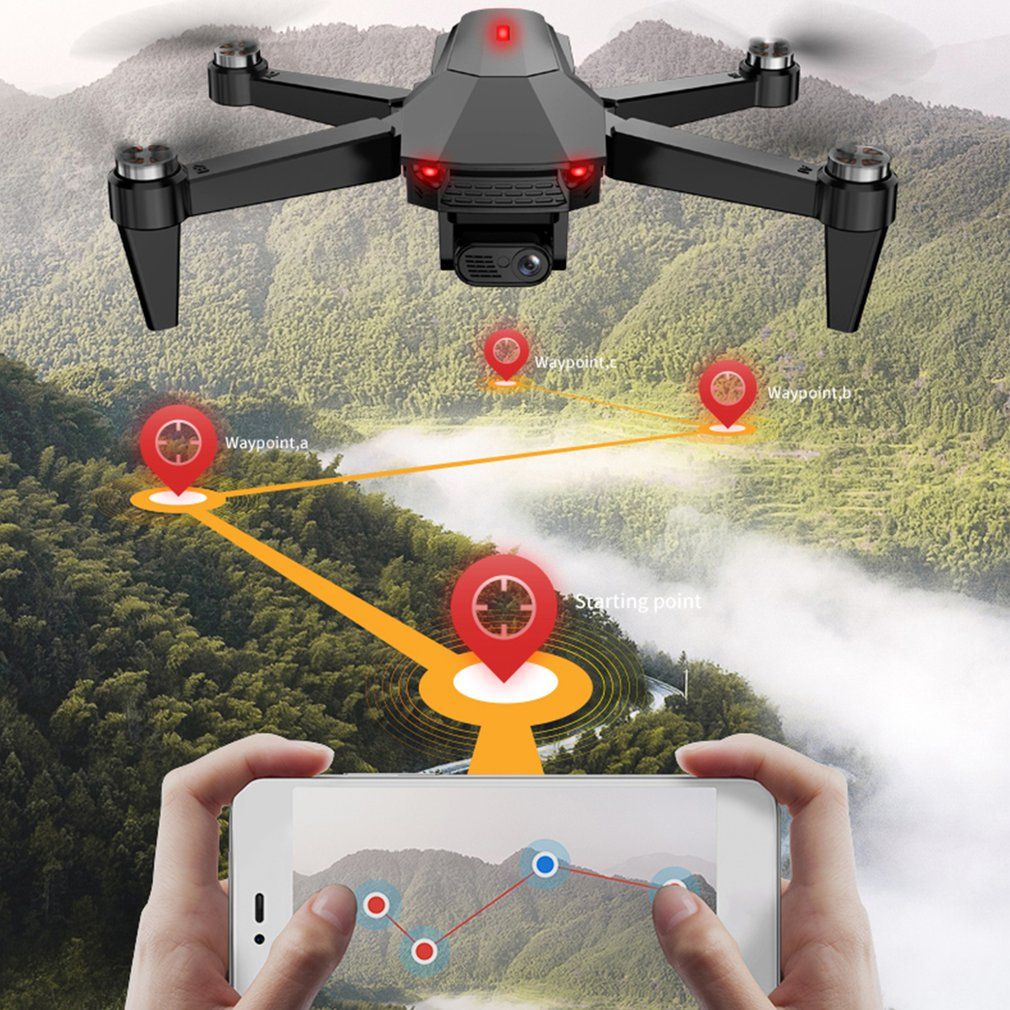 S9 25mins Camera Drones 4K GPS 1KM Long Distance Professional 5G WiFi FPV Brushless Foldable Quadcopter Drone enlarge