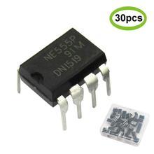 555 Timer Chip IC NE555 Pulse Generator DIP-8 Single Precision Timer (pack of 30pcs)