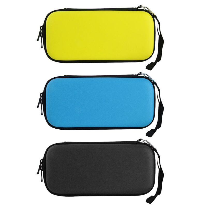 Carcasa rígida portátil resistente al agua bolsa de almacenaje de transporte EVA para accesorios de consola Nintend Switch Lite NS
