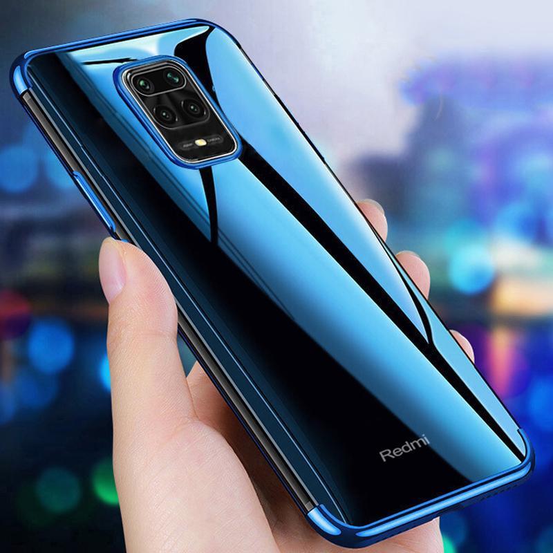 De silicona caso para Redmi Nota 9S 9 Pro Max 10X Pro 8A 8T 7A 6A clara suave TPU de cubierta por XiaoMi Nota 10 Lite Mi 10 Pro Coque