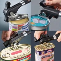 multi functional can openers side open fast simple stainless steel can opener kitchen tin opener gadget