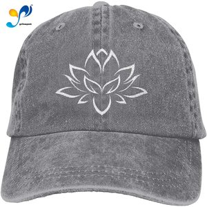 Yellowpods White Lotus Casquette Baseball Dicer Vintage Adjustable Casquette Cap Cowboy Hat Shading Function Unisex