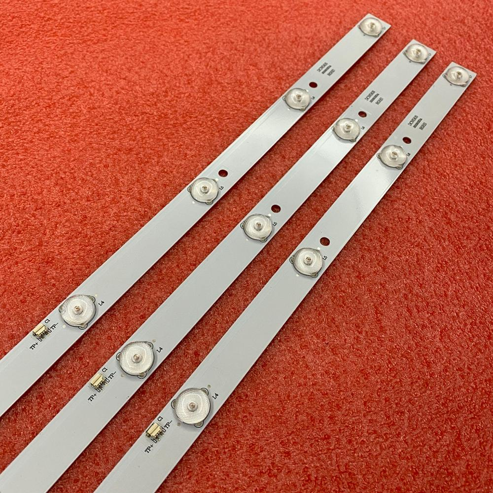 15 Pçs/lote 7LED(3V) backlight 596 milímetros LED stirp para 32L31 32L33 JS-LB-D-JP3235-071DBAD E305540 PY63356B NVR-7406-32HD-N