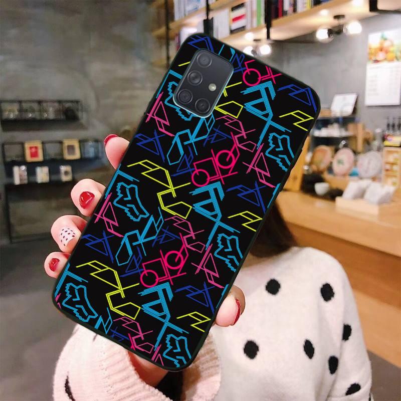Nette fox TPU Weichen Silikon Telefon Fall Abdeckung Für Samsung Galaxy A01 A11 A31 A81 A10 A20 A30 A40 A50 a70 A80 A71 A91 A51