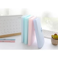 240 slots 2012cm pp cartoon large capacity name card holder portable business card books with button id bank cards storage