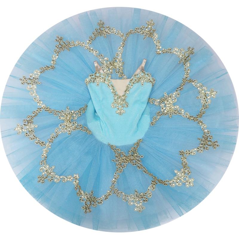 Pancake Ballet tutú profesional adultos tutú Ballet niños niñas Ballet Vestido Mujer Swan Lake Ballet disfraces Balarina fiesta
