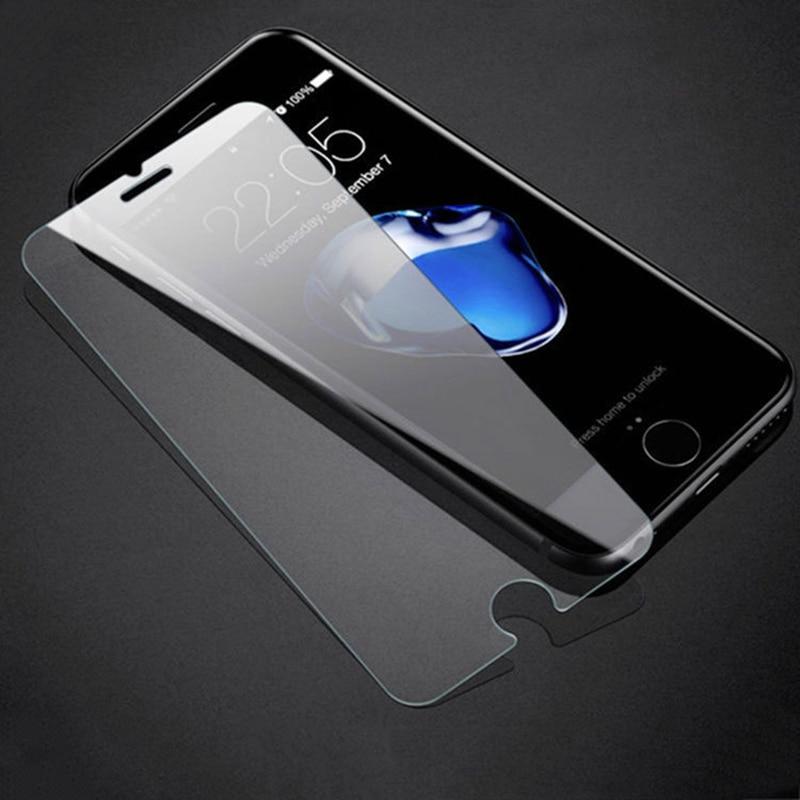 10 piezas 2.5d 0,26mm para Alppe iPhone 6 6S 7 8 X Plus Protector de pantalla de vidrio templado Premium película protectora endurecida