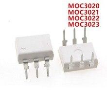 10 Uds MOC3020 MOC3021 MOC3022 MOC3023 MOC3041 MOC3043 MOC3052 MOC3061 MOC3062 MOC3063 DIP6 DIP nuevo