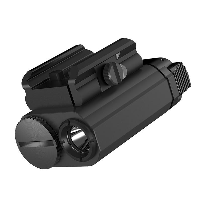 NITECORE NPL20 Gun Flashlight CREE XP-G3 S3 LED 460 Lumen Tactical Flashlight Led Flashlight for Weapon Shooting Sports