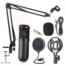 360 ° universel bureau chevet support en porte-à-faux téléphone portable Microphone ancre Live multi-fonction K chanson support noir